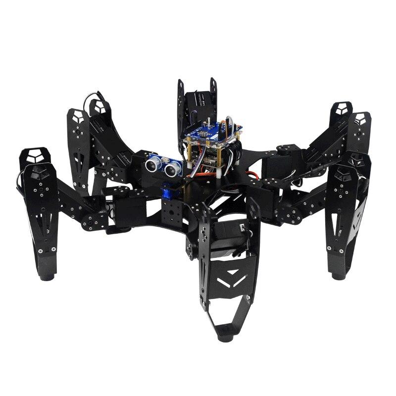 Robot araignée à Six pattes robo-soul CR-6 Hexapod avec contrôleur 20CH et Servo numérique et Set de développement Arduino 50% de réduction