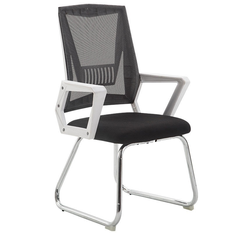 WL# 3967 Computer home office training conference lift staff chair cloth seat student dormitory 240337 ergonomic chair quality pu wheel household office chair computer chair 3d thick cushion high breathable mesh