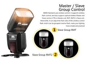 Image 4 - Pixel X800S Standard Drahtlose GN60 TTL HSS Kamera Flash Speedlite Für Sony A7 A77 A7R RX1 A6000 A6300 DSLR Vs x800N Yongnuo