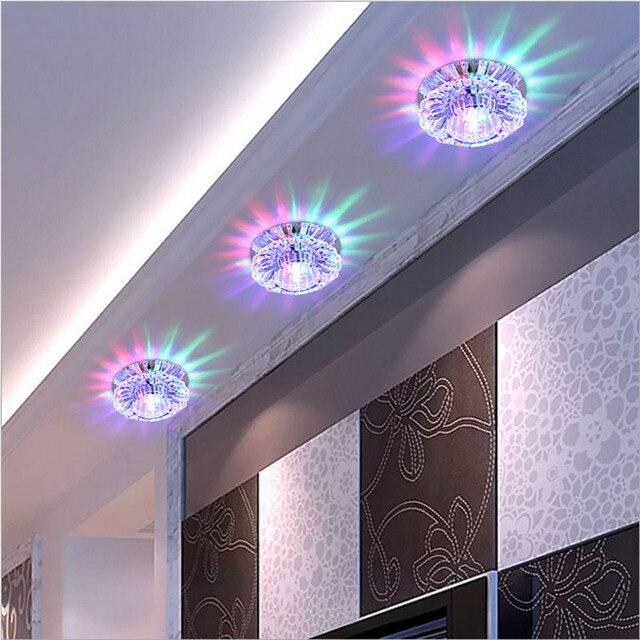 3 Watt LED Downlight Moderne Wohnzimmer, Einbau Multicolor Led Panel ...