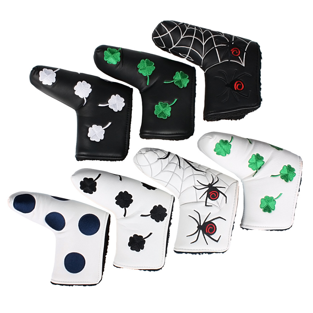 Andux Golf Putter Head Cover Headcover For Blade Style Putter