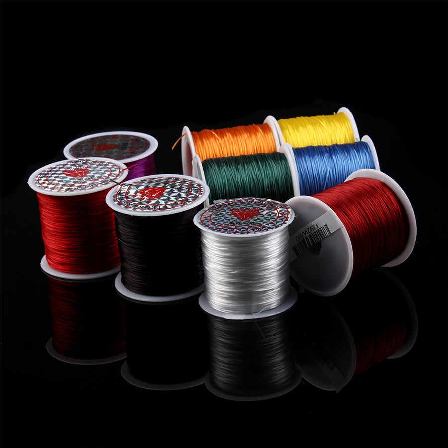 Xinyao 1rolls/Много мульти-цвета эластичный стрейч Бисер Провода/шнур/string/Нитки для DIY браслеты ювелирных материалов для изготовления F392