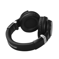 Professional Headphone Studio Headphones Noise Cancelling Wired Over Ear Headset for Monitoring Music Game Bag