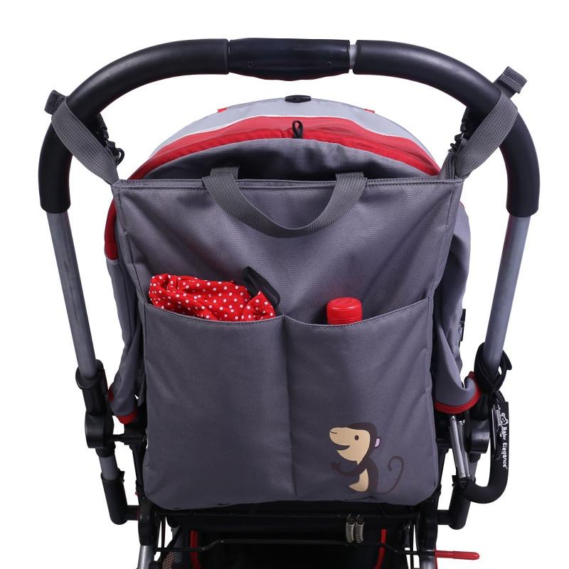 SMDPPWDBB Baby Stroller bag Organizer Nappy Diaper Bag Carriage Hanging Basket Storage Organizer Stroller Accessories