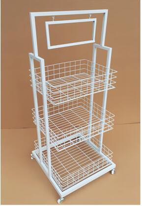 Купить с кэшбэком Fruit sales rack. The pharmacy shelves., wrought iron craft of the lacquer that bake, with wheels