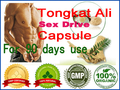 Orgânico Malásia Tongkat Ali TONGKAT Cápsula suplemento sexual para homens & mulheres eficaz aumentar a libido produto 90 pcs para 90 dias