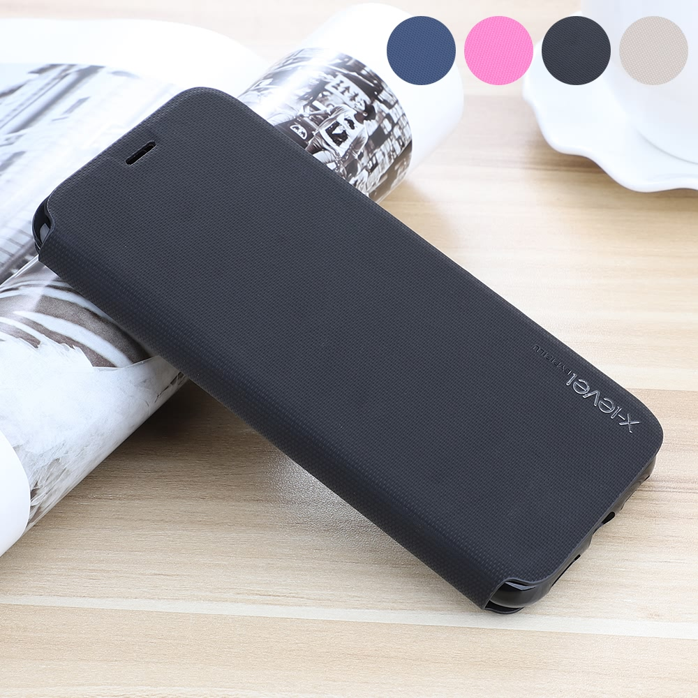 Genuine <font><b>Leather</b></font> <font><b>Flip</b></font> Wallet <font><b>Case</b></font> For <font><b>iPhone</b></font> <font><b>7</b></font> Plus 8 6S 6 Xr X Xs Max Business Ultra thin Matte Bumper Shockproof TPU Cover Capa image