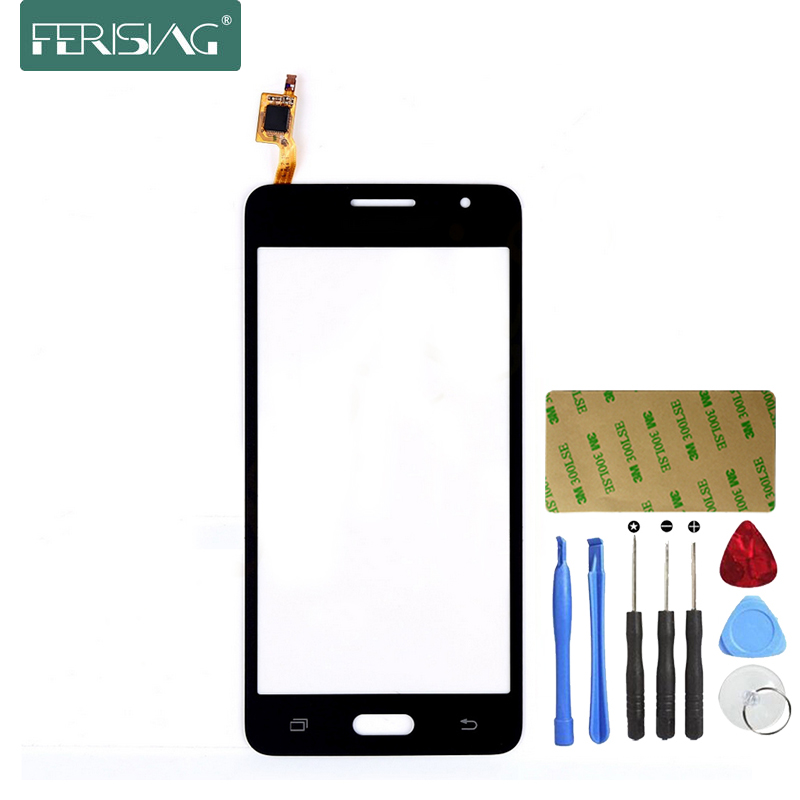Ferising Écran Tactile Pour Samsung Galaxy Grand-Premier G530 SM-G530 Téléphone Tactile Panneau Capteur Digitizer Verre de Remplacement + Outils kit