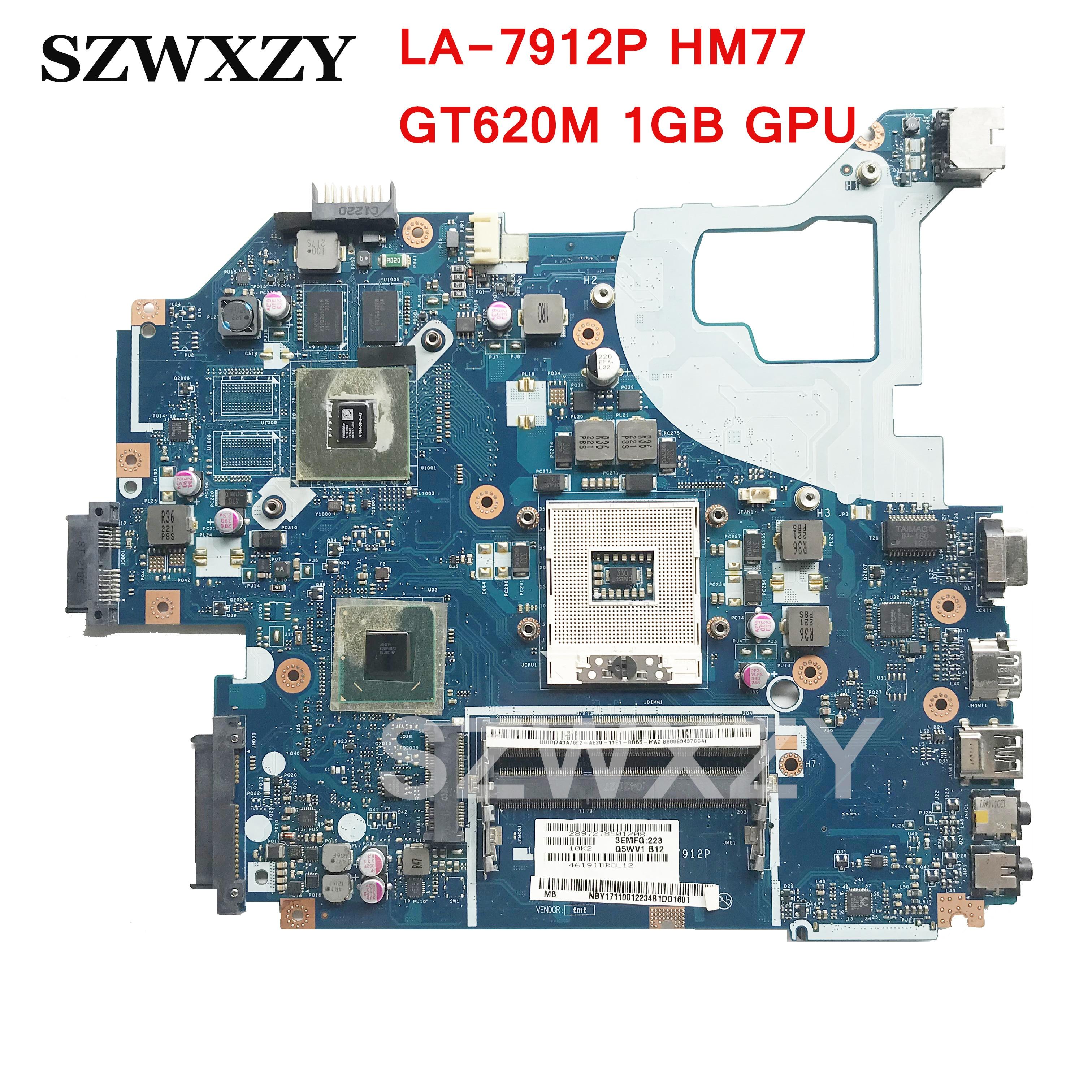 Q5WVH LA 7912P For Acer aspire V3 571G V3 571G Laptop Motherboard NBY1711001 NB Y1711 001