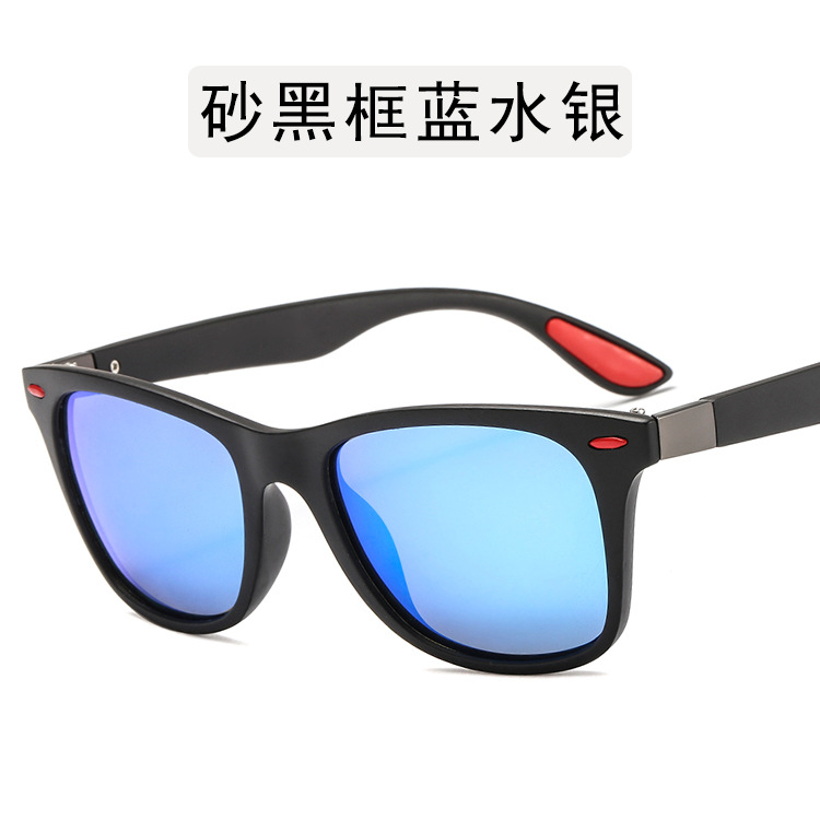 2019 BRAND DESIGN Classic Polarized Sunglasses Men Women Driving Square Frame Sun Glasses for Men Sunglasses UV400 Gafas De Sol in Women 39 s Sunglasses from Apparel Accessories