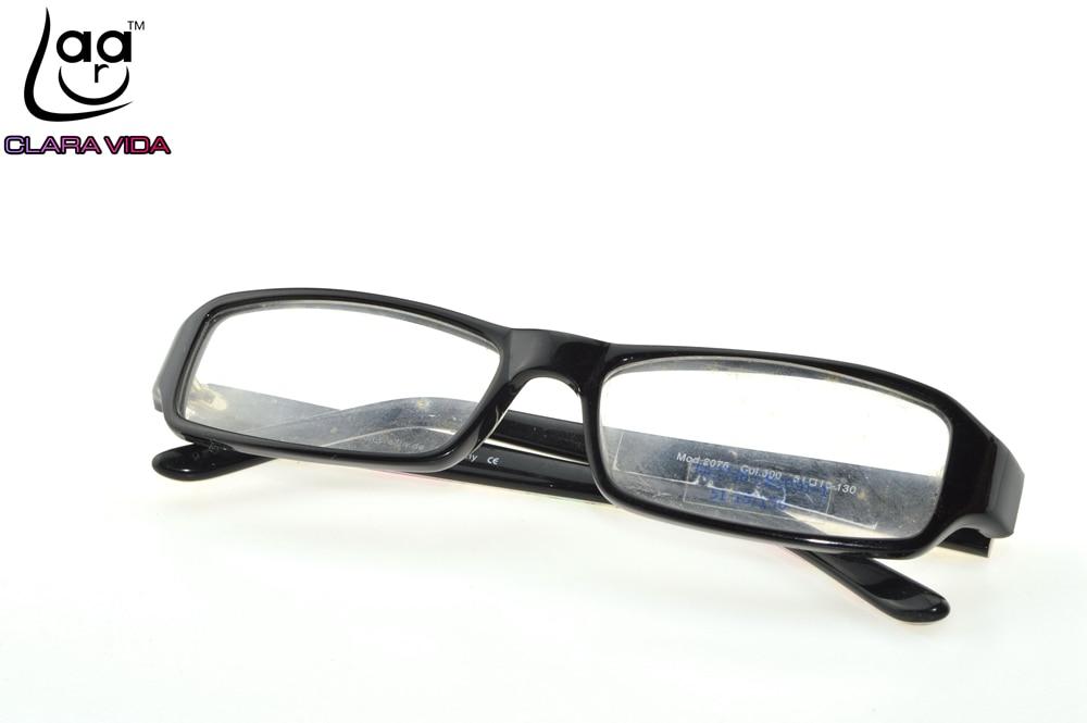 Rechteckigen Dicke Kanten Trend UNISEX Nerd Brille Rahmen Nach Maß ...