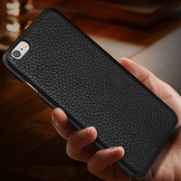 Case For IPhone 6S IPhone 6 High Quality Lichi Pattern 100 Genuine Cowhide Leather Cases Shell
