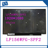 Free shipping LP156WFG SPF2 LP156WFG SPF2 15.6''inch 2K IPS Laptop Lcd Screen 72% color gamut 144HZ