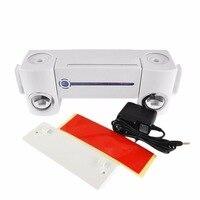 1Set Pro Practical Antibacteria UV Light Ultraviolet Toothbrush Dispenser Sterilizer Bathroom Toothbrush Holder Cleaner 2Cups