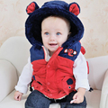 IVE 2016 New Baby Outerwear Baby Elephant Vest  Kids Cute Waistcoat Children Vest IB404