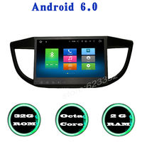 Octa Core Android 6 0 Car Radio Gps Player For Honda CRV 2012 2016 With 2G