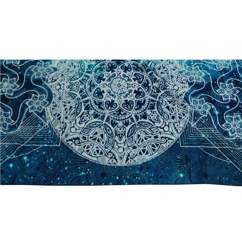08bda4e1db Buddha chakra Tapestry Tapiz Mandala Zen Meditation Batik Wall Hanging  Indian Bedspread Blanket Yoga Mat Beach Towel Tapisserie-in Tapestry from  Home ...