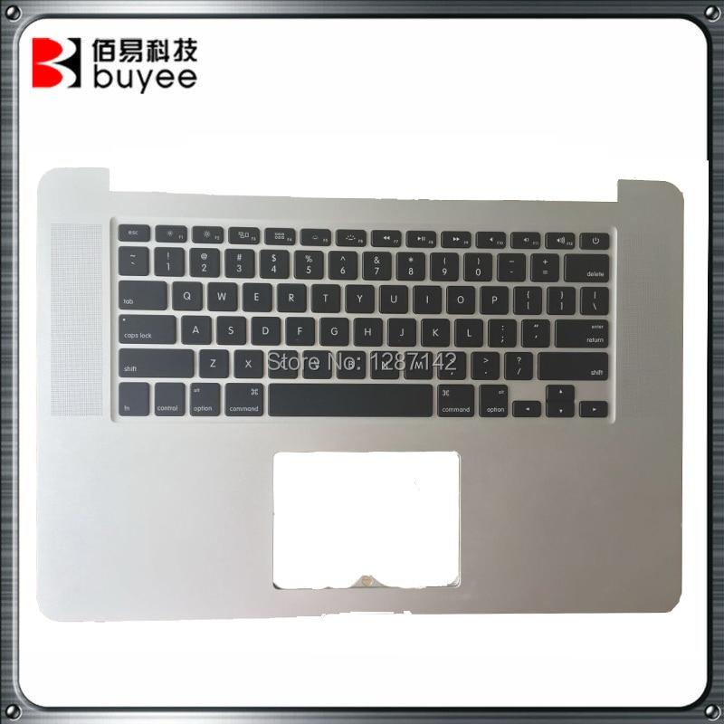 ФОТО Original Quality A1398 2012 Year MC975 MC976 Top Case With US Keyboard For Apple Macbook Pro Retina 15'' US Version