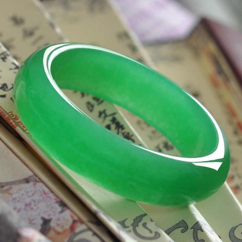 Браслет императора Лаки с зелёными камнями из натурального прозрачного камня бирмийский камень браслет для здоровья Индийский браслет для женщин и мужчин ювелирные изделия