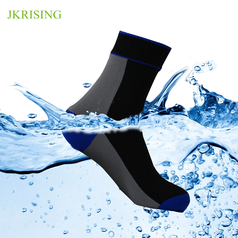 Waterproof Socks Outdoor Hiking Run Socks Men Anti Slip Climing Breathable Fishing Skii Socks