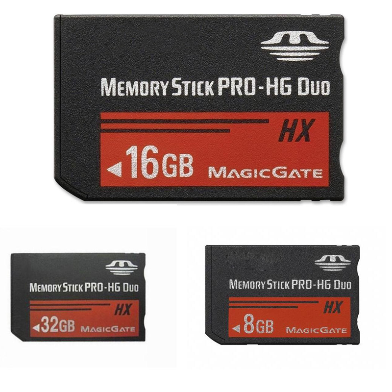 For Sony 8GB 16GB 32GB 64GB PSP 1000/2000/3000 Memory Stick MS Pro Duo Memory Card