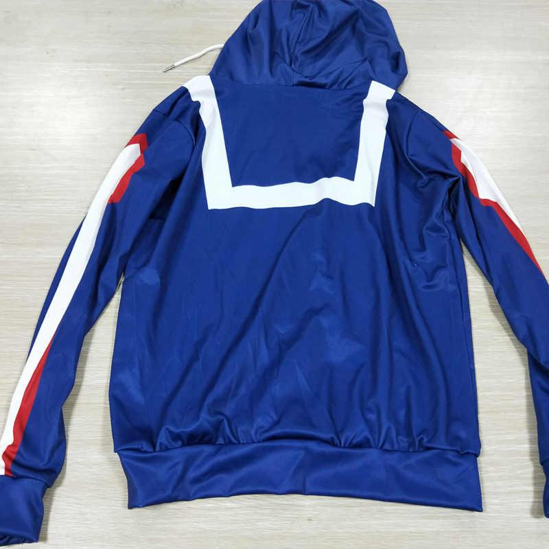 Coshome anime boku não meu herói academia cosplay trajes hoodies moletom das mulheres dos homens bakugou izuku midoriya primavera jaqueta casaco