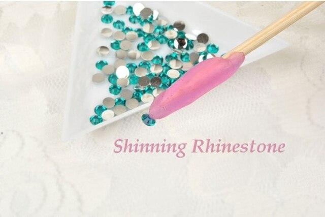 10 Pcs Lot New Rhinestone Picker Pencil Nail Art Painter Tools Rhinestones
