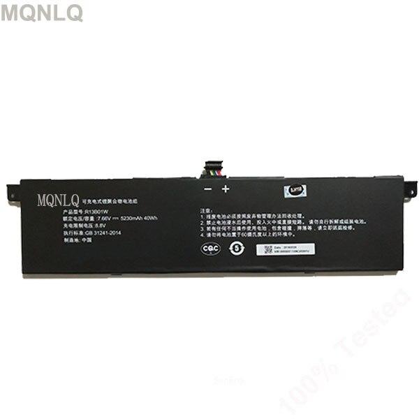 Haute qualité R13B01W batterie pour ml air 13.3 R13B01W 7.6 v 5107 mah 39wh forml air MQNLQ
