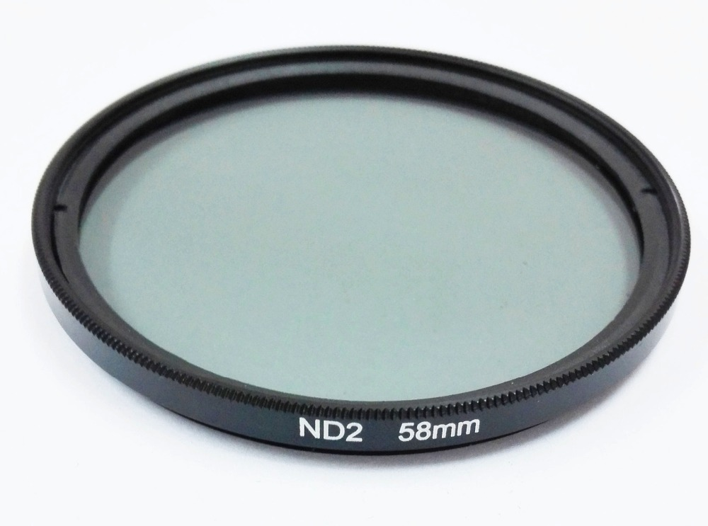 37mm 46mm 49mm 52mm 55mm 58mm 62mm 67mm 72mm 77mm 82mm <font><b>86mm</b></font> ND <font><b>Filter</b></font> Neutral Density ND2 ND4 ND8 ND16 ND32 For Canon Nikon Sony image