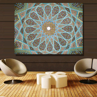 QK ART Home Decor Canvas Wall Art Roof Decoration Oil Painting Canvas Print Wall Pictures For