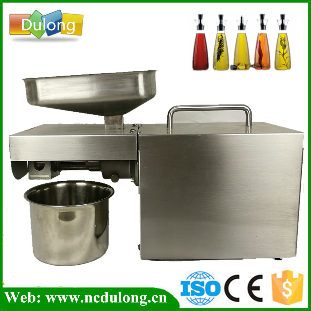 All Stainless Steel High Oil Extraction Automatic Oil Press Machine Nuts Seeds Oil Pressure Pressing Machine