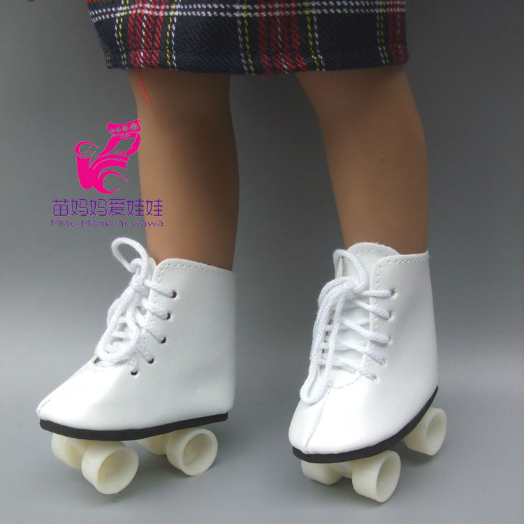 Snow Boots Shoes for 18 45CM American Girls Dolls, fashion skating sport shoes Alexander doll accessory baby girl gift