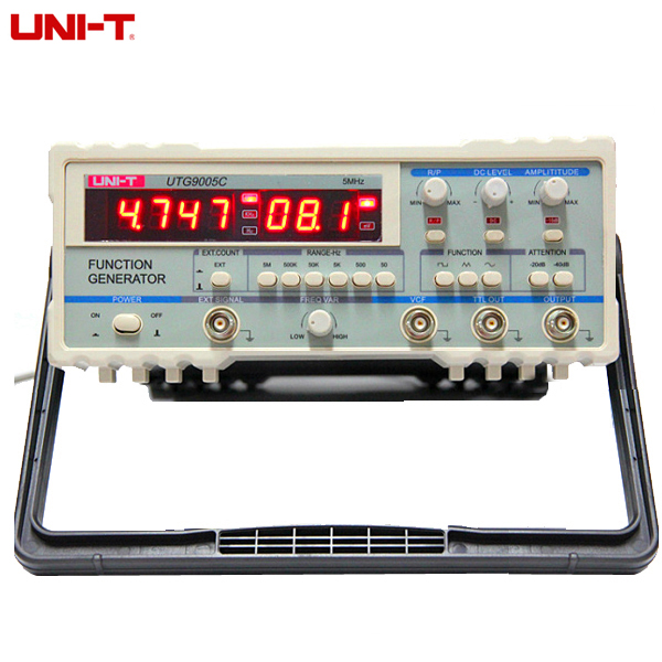 UNI-T UTG9005C Power Supply Digital Function Waveform Signal Generator 0.5Hz-5MHz AC 220V global powers in the 21st century – strategy and relations
