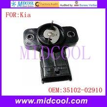 Новый Датчик Положения Дроссельной Заслонки TPS использования OE Нет. 35102-02910 для Kia Picanto Утро