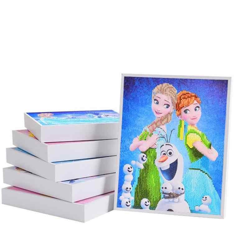 Детские бриллиантовые наклейки ручной работы декоративная живопись Diy Материал творческие головоломки мульти-модель Бесплатная доставка на выбор