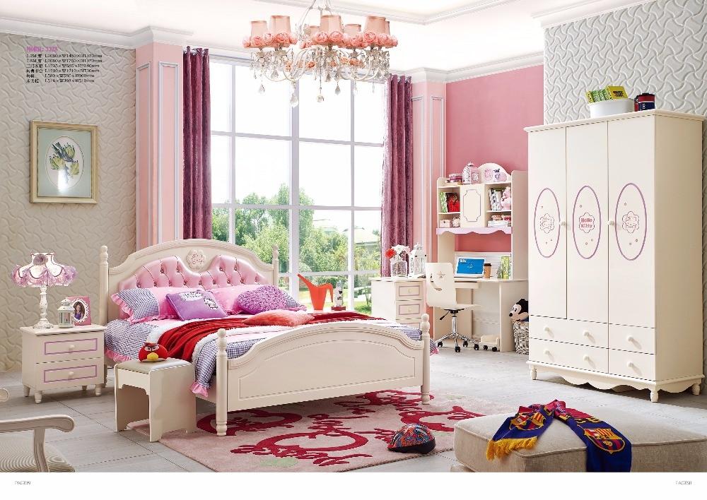 Jlmf3328 ash solid wood children bedroom furniture set - Solid wood youth bedroom furniture ...