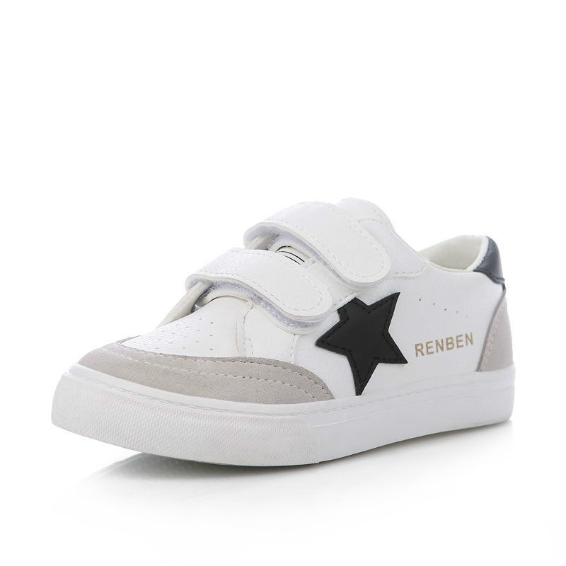 Kids shoes for girl boys shoes Artificial leather 2017 spring autumn new boys girls shoes white shoes fashion sneakers
