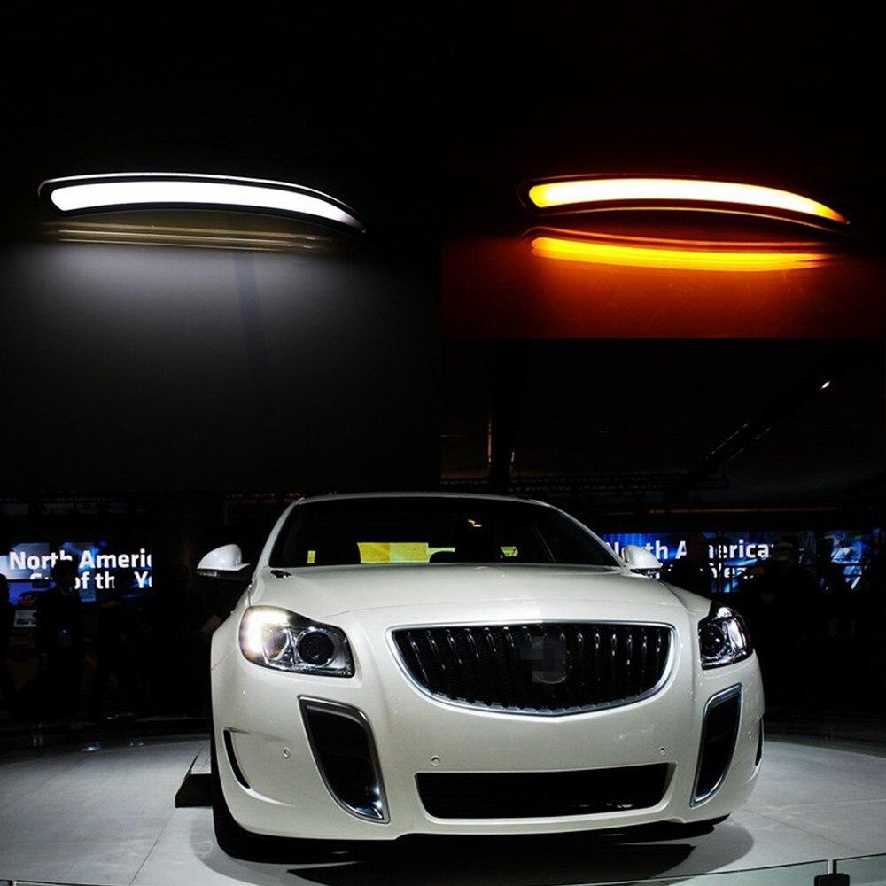 Online Shop July King LED Daytime Running Lights DRL case for Buick ...