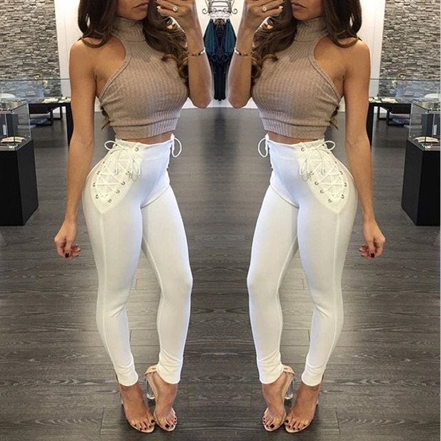 2017 Hot Sale Women Sexy New Fashion Move Trousers Brand -4099
