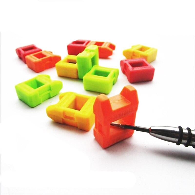 Rápida Chave De Fenda Magnetizador Mini 2 Magnetizador Desmagnetizador Ferramenta Chave De Fenda de Aço Inoxidável de Alta Qualidade Em 1 Magnetizador