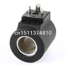 Замена DC 24 В 23 мм Диаметр Пневматический Управление электромагнитный клапан катушки Черный