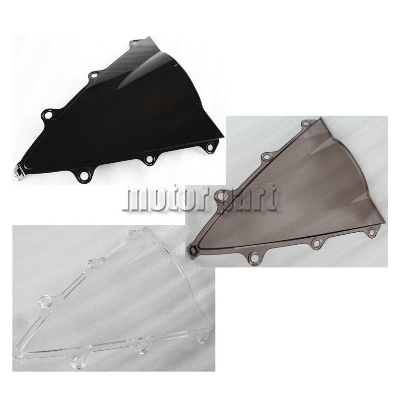 Motorcycle ABS Plastics WindScreen Windshield Deflectors For 2015 2016 2017 Honda CBR300R CBR 300 R 15 16 17 Black