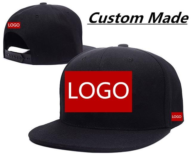 Wholesale High Quality Custom Made Logo Hats Customize Baseball Caps
