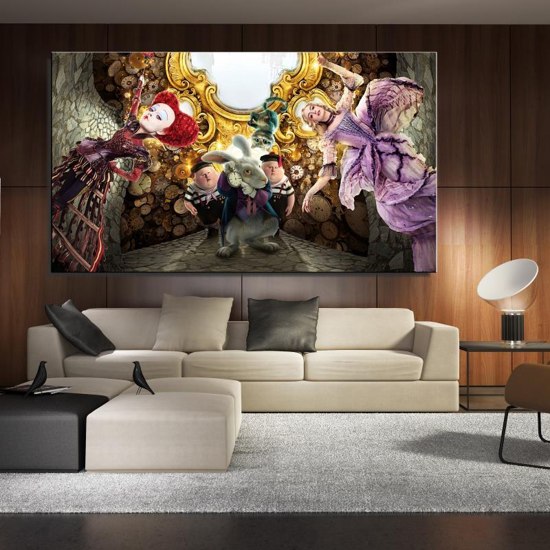 Frame-less Canvas Posters Mirrors Decorative Paintings For ...