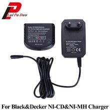 블랙 & 데커 용 교체 충전기 9.6V 18V A12 A12 X HPB18 HPB14 HPB12 HPB96 HPB18 OPE NI CD NI MH 배터리 충전기