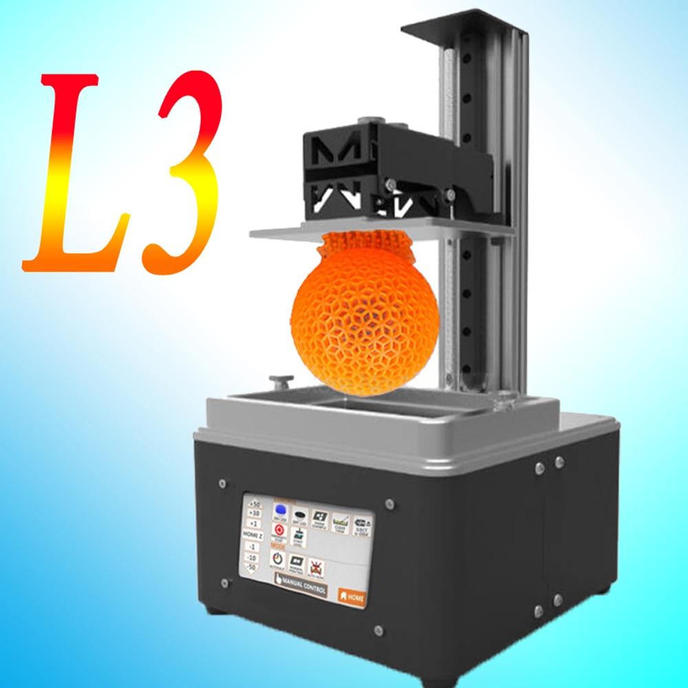 Micromake L3 wifi UV light curing SLA/LCD/DLP 3d printer high precision 2K impresora for Jewelry dentistry photon 3d printer цена