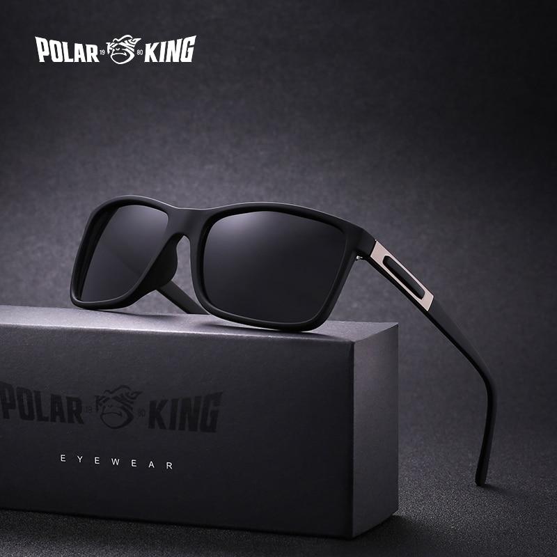 POLARKING Brand Plastic Polarized Sunglasses For Plastic Men Travel Men's Fashion Sun Glasses Driving Fishing Eyewear