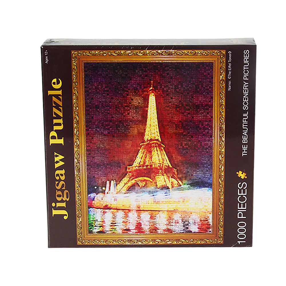 Novi proizvod obrazovne igračke Eiffelov toranj 3D drveni papir - Igre i zagonetke - Foto 3