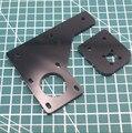 Kit de placa de montaje de motor de tornillo de plomo TR8 de actualización de eje doble Z de acrílico 1 piezas para HE3D/Tevo tarántula 3D piezas de impresora 6mm de espesor