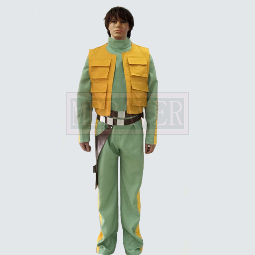 Star Wars 4 A New Hope Greedo Han Solo Cosplay Costume Custom Made Any Size